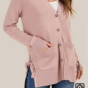 NWOT Light pink cardigan